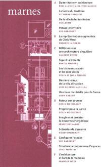 Marnes, documents d'architecture. n° 5,
