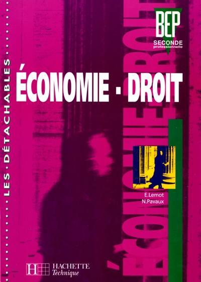 economie et droit seconde professionnelle