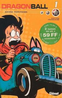Dragon Ball. Volume 1 et 2,