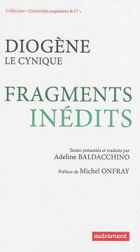 Fragments inédits