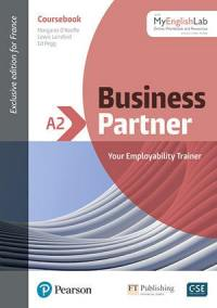 Business partner A2, with MyEnglishLab