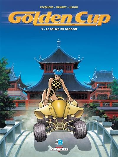 Golden cup. Volume 5, Le baiser du dragon