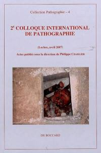 2e colloque international de pathographie