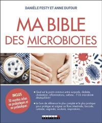 Ma bible des microbiotes