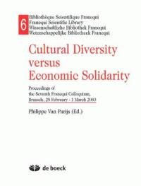 Cultural diversity versus economic solidarity