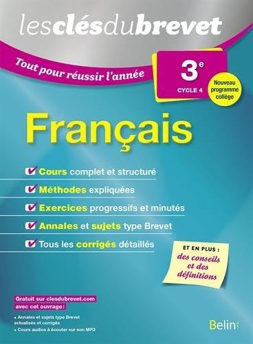 Français 3e, cycle 4
