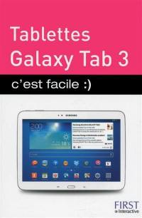 Tablettes Galaxy Tab 3