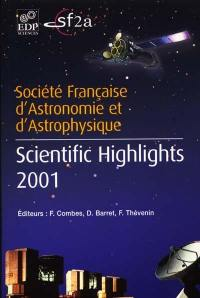 Scientific highlights 2001