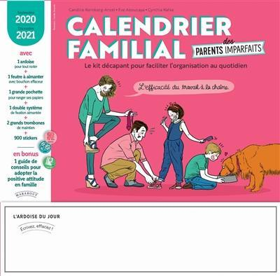 Calendrier familial des parents imparfaits