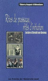 Rites de passage, rites d'initiation