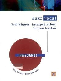 Jazz vocal