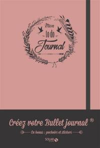 Mon to do journal