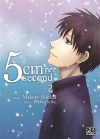 5 cm per second. Volume 2,