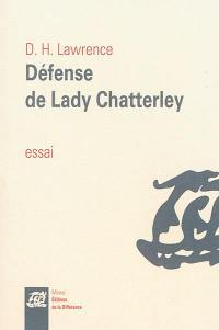 Défense de lady Chatterley