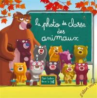 La photo de classe des animaux