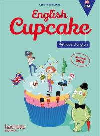 English cupcake CM : méthode d'anglais