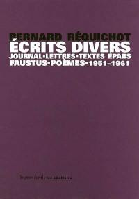 Ecrits divers