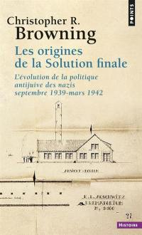 Les origines de la Solution finale