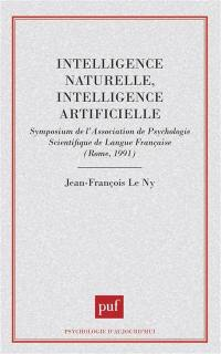 Intelligence naturelle, intelligence artificielle