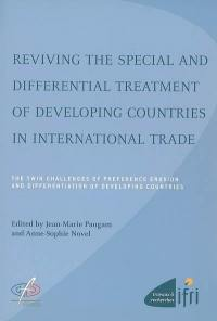 Reviving the special and differential treatment of developing countries in international trade