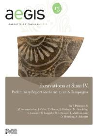 Excavations at Sissi IV