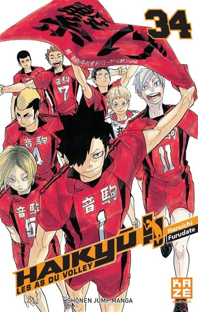 Haikyu !!. Volume 34,