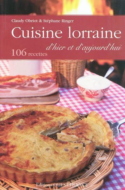 cuisine lorraine dhier et daujourdhui