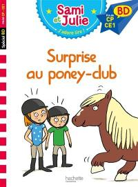 Surprise au poney club