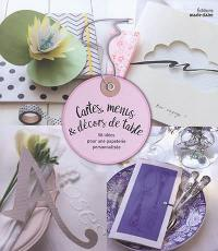 Cartes, menus & décors de table