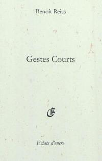 Gestes courts