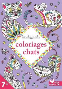 Coloriages chats