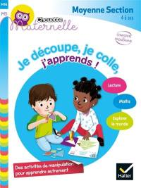 Je découpe, je colle, j'apprends !