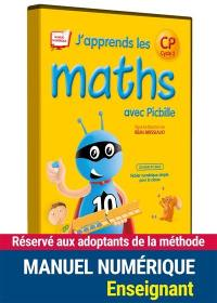 J'apprends les maths avec Picbille, CP, cycle 2