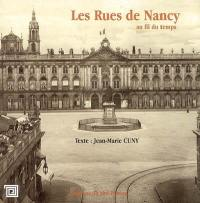 Les rues de Nancy