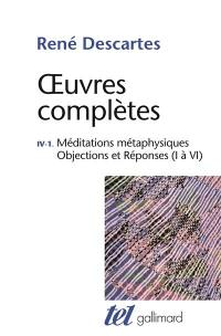 Oeuvres complètes. Volume 4-1,