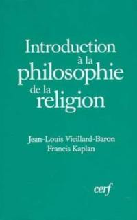 Introduction à la philosophie de la religion