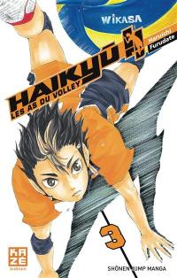 Haikyu !!. Volume 3, En marche, team Karasuno !