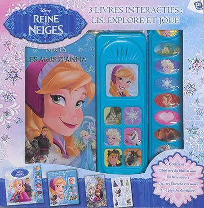 Livre La Reine Des Neiges Ecrit Par Walt Disney Company Et