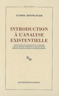 Introduction à l'analyse existentielle