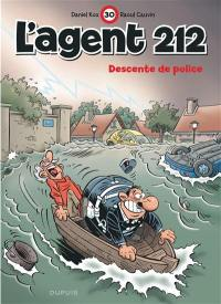 L'agent 212. Volume 30, Descente de police