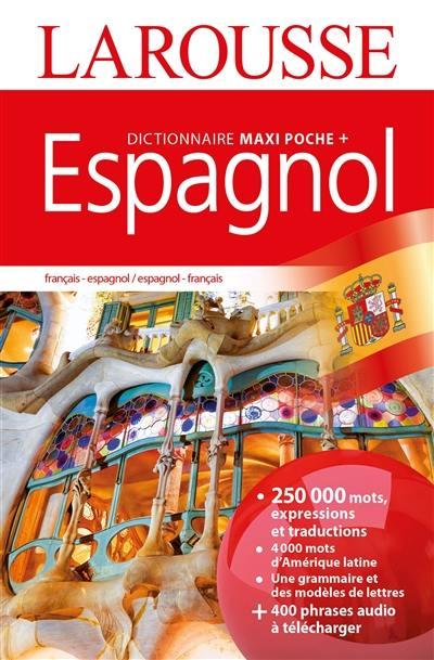 livre   dictionnaire maxipoche   espagnol