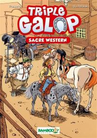 Triple galop. Volume 4, Sacré western