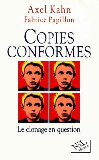 Copies conformes