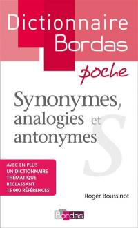 Synonymes, analogies et antonymes