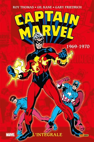 Captain Marvel, 1969-1972
