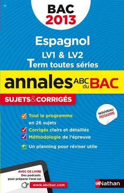 Livre Espagnol Lv1 Lv2 Terminale Toutes Series Ecrit Par Sylvie Duru Nathan 9782091884905