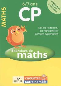 Exercices de maths CP, 6-7 ans