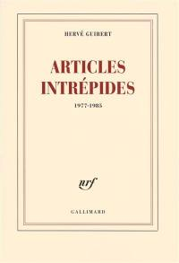 Articles intrépides