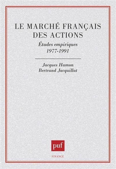 Recherches en finance du CEREG - Jacques Hamon,Bertrand Jacquillat