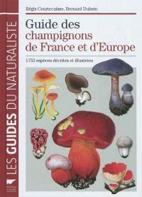 Guide des champignons de France et d'Europe